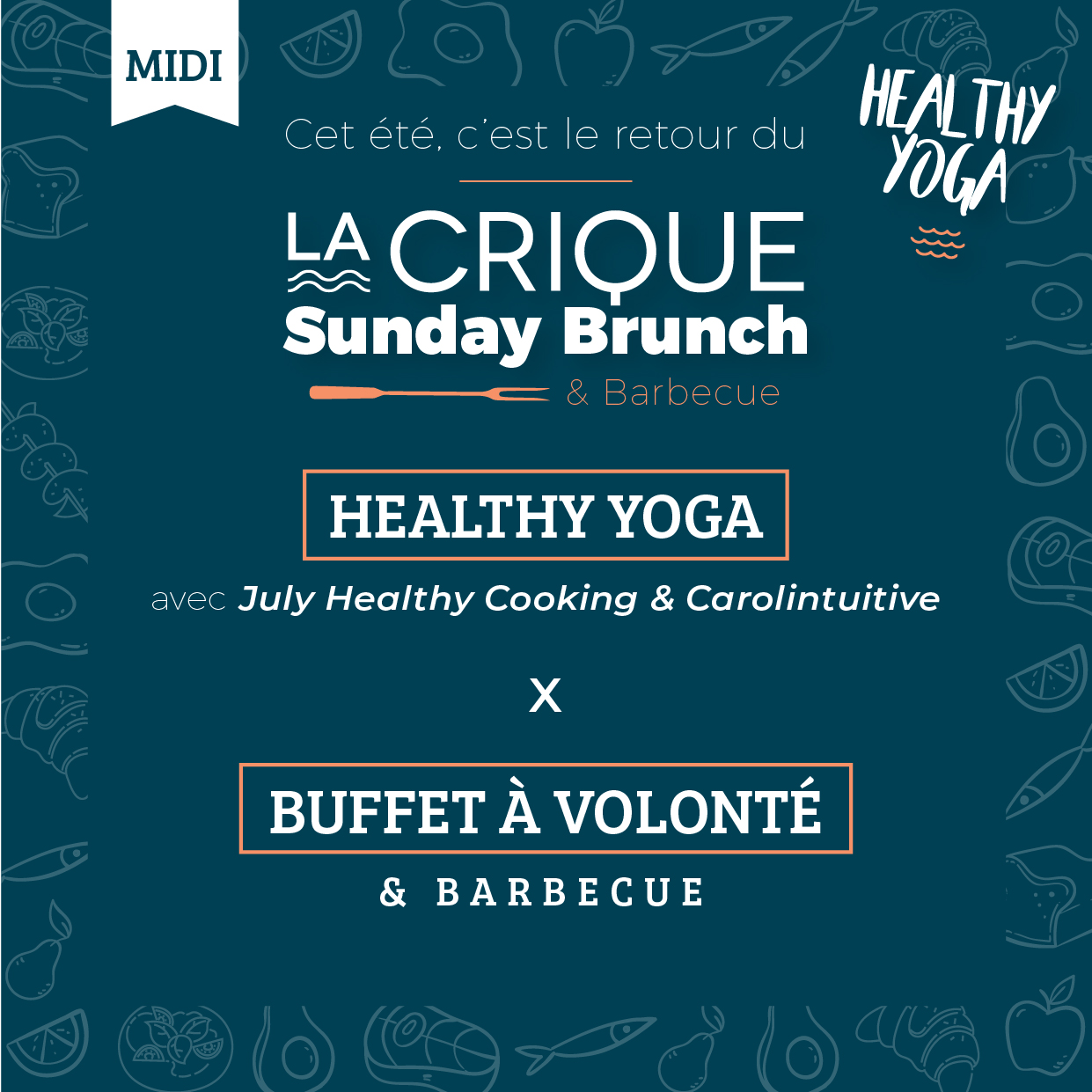 Healthy Yoga La Crique