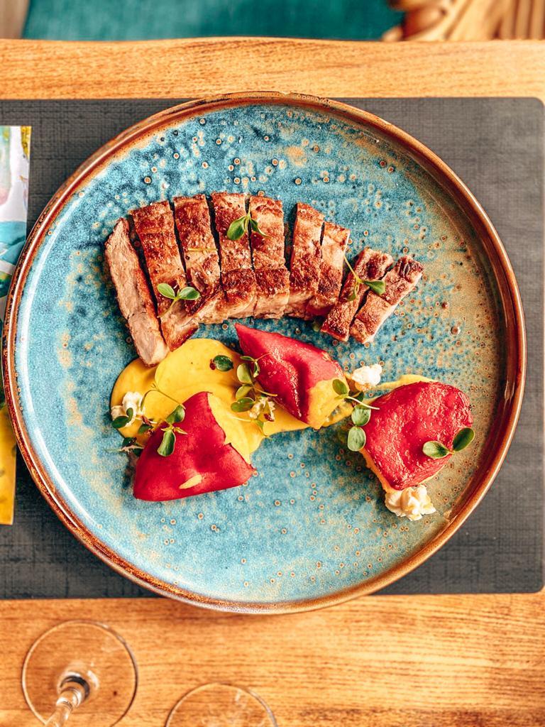 Plat Restaurant La Crique